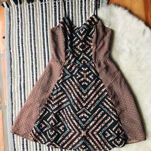 Xhilaration Block Print Dress